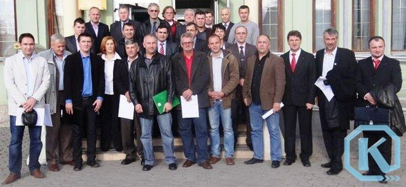 Kalesijski vijećnici, zajednička fotografija nakon izbora 2012. godine