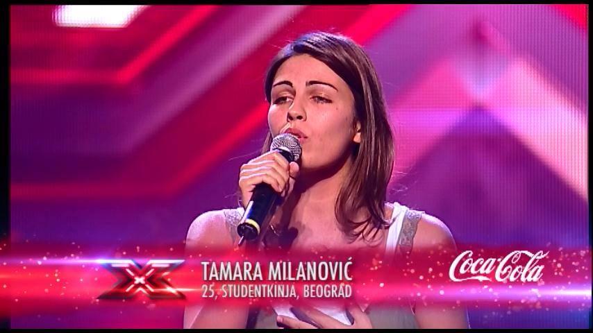 Tamara Milanović oduševila i rasplakala žiri X Factora