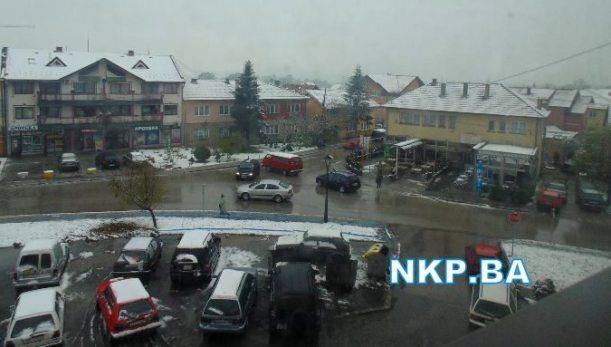 centar kalesija snijeg