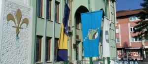 opcina kalesija zastave na pola koplja