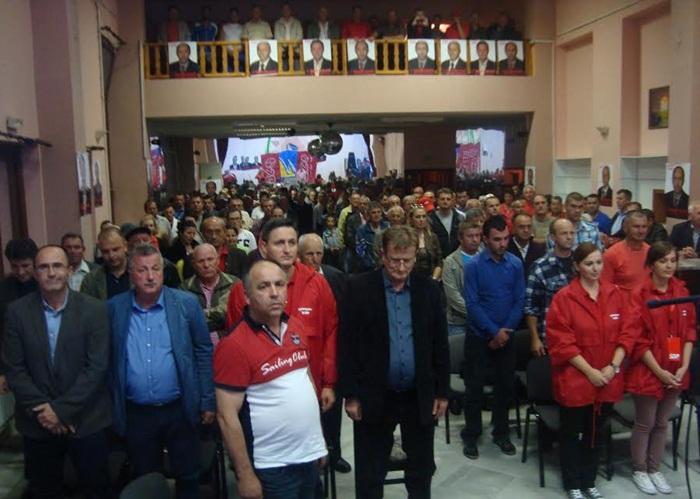 SDP BiH Kalesija održao promotivni skup u Memićima