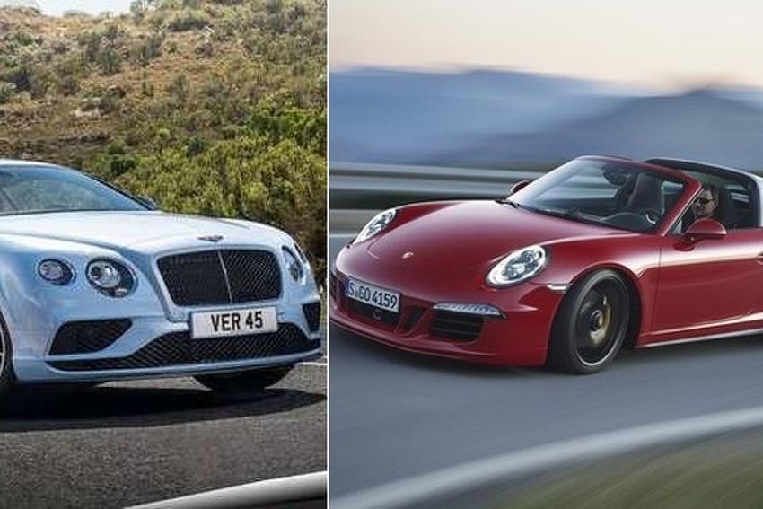 Bentley Continental i Porsche Carrera za koje su kupci u BiH izdvojili više od pola miliona KM