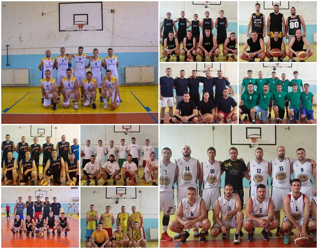 10 ekipa koje učestvuju u petoj sezoni AKOL-A, prve i jedine ameterske košarkaške lige u BiH