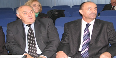 Premijer Sead Čaušević (SDP) i ministar Senaid Hadžić (BPS)